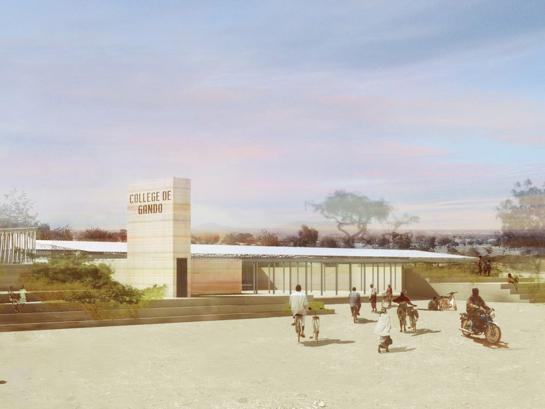 [news] Desain Sekolah Yang Nyaman Walau Dengan Temp Lingkungan Mencapai 40°C, Memenangkan The Global Holcim Awards