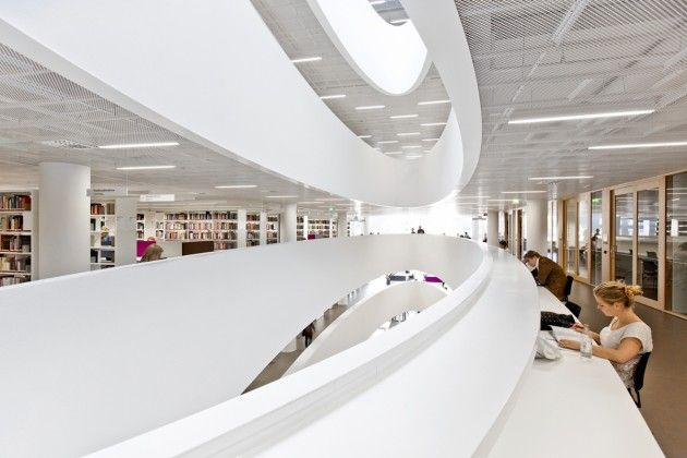 News – Desain Interior Perpustakaan di Helsinki University