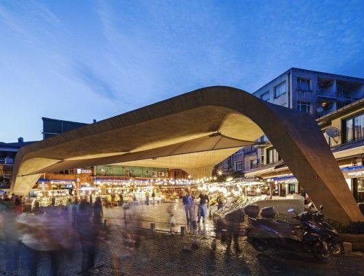 News – Desain Arsitektur Pasar Ikan di Istanbul