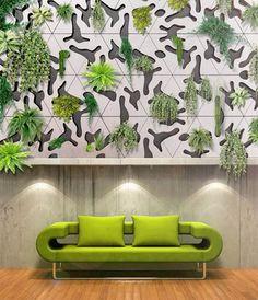 News – Desain Vertikal Garden Sebagai Aksen Dinding Di Interior