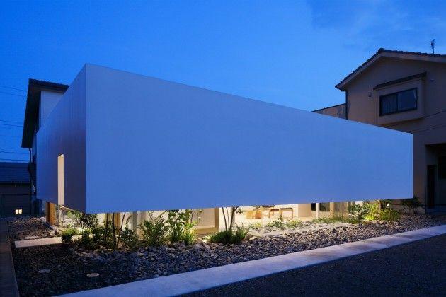 News – Desain Rumah Modern Yang Mengambang Diatas Taman