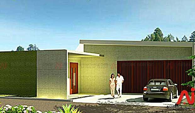 Rumah dengan Konsep Alam di Bogor