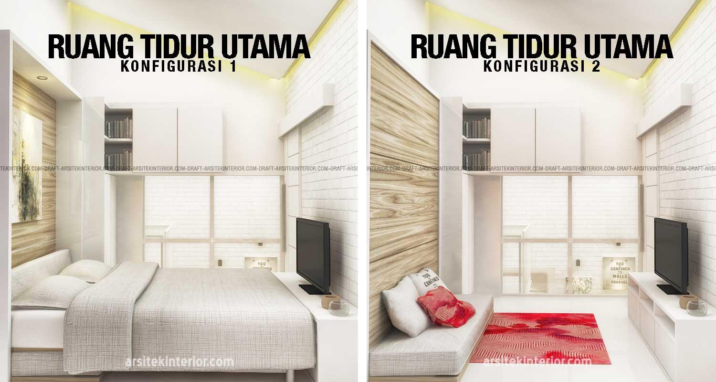 Contoh-Penerapan-Konsep-Micro-Living-Pada-Kamar-Tidur-Utama-Design-Rumah-Kecil-2-Lantai-Dengan-Luas-40-Meter