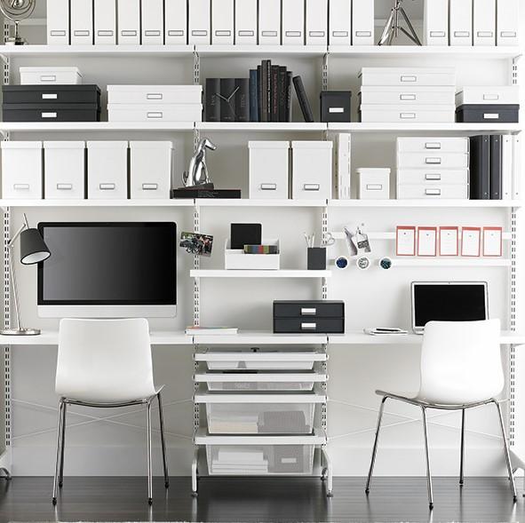 Desain interior ruang kantor minimalis untuk ruang kecil