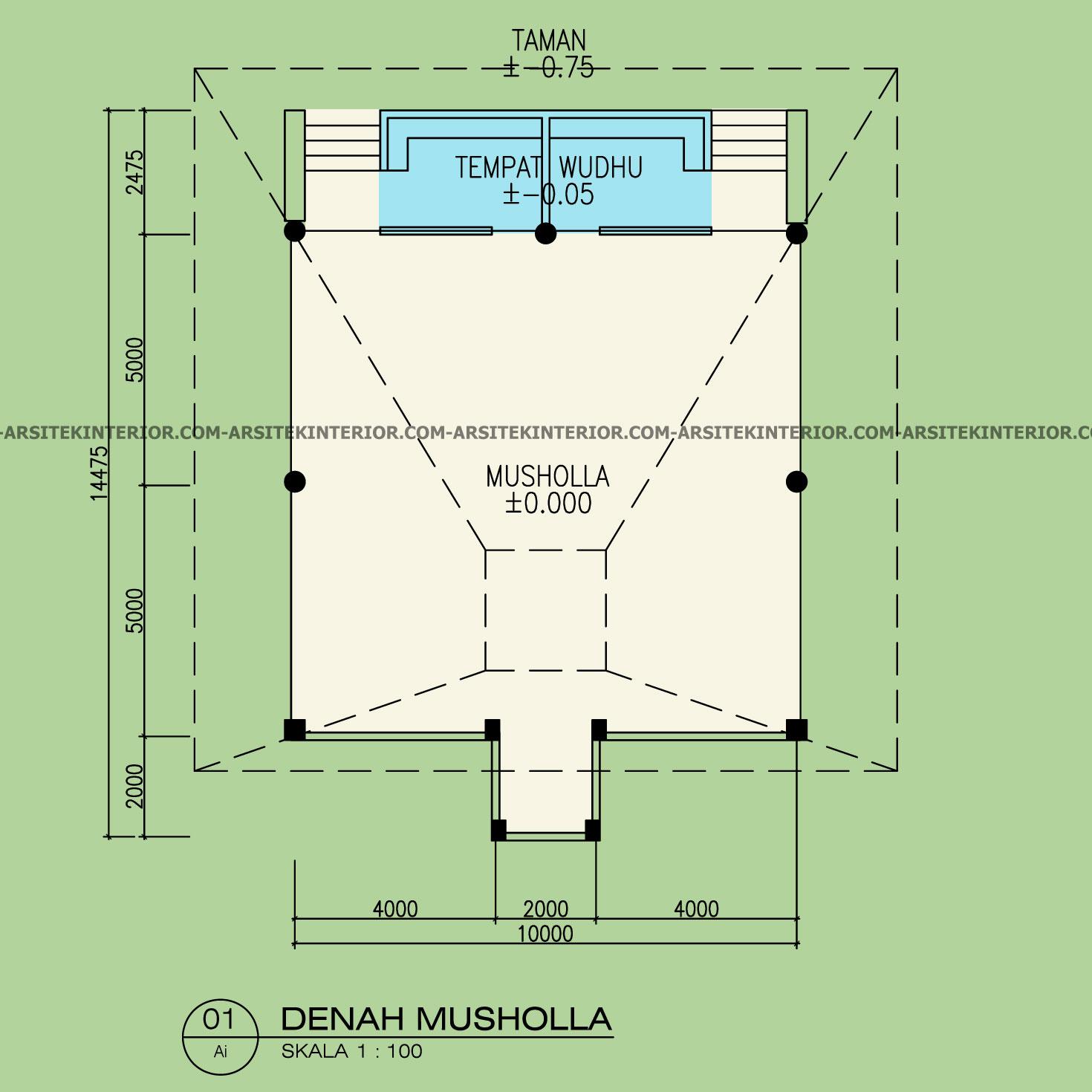 Jasa Arsitek Desain Kompleks Pondok Pesantren Asrama