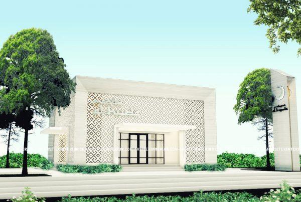 Jasa Arsitek Desain Mesjid Musholla Minimalis Ukuran 10x10 Gratis