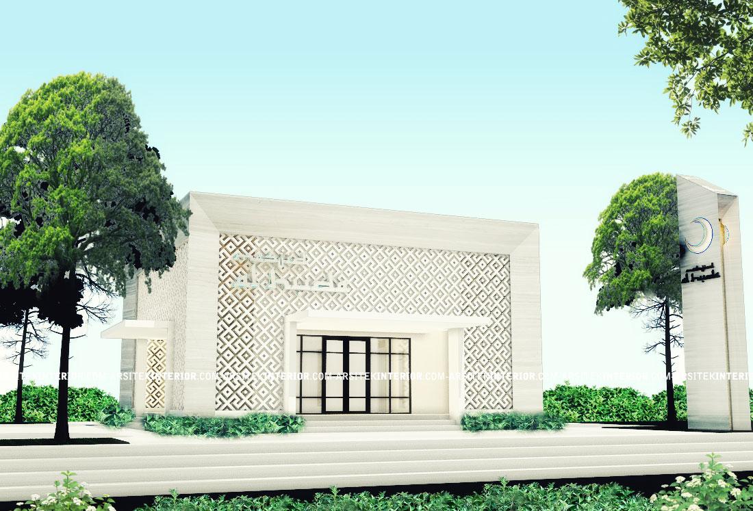 Jasa Arsitek Desain Mesjid Musholla Minimalis Ukuran 10x10