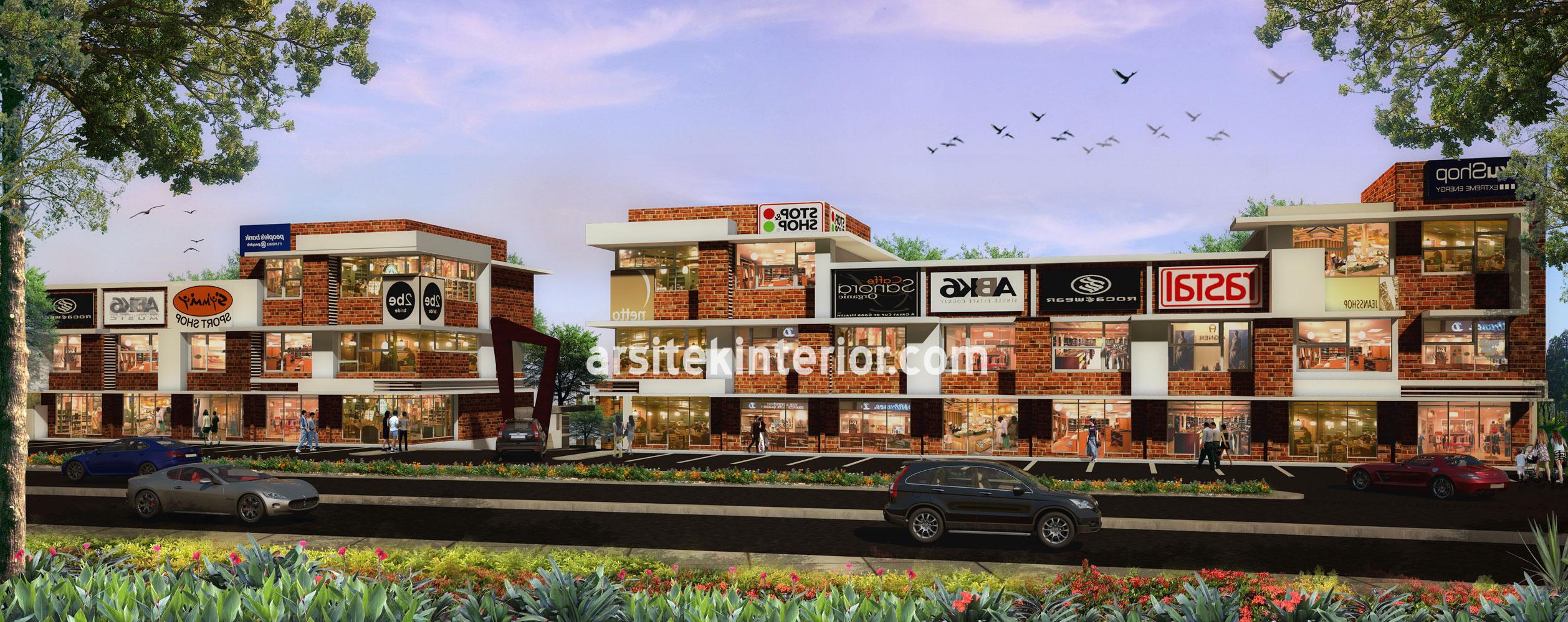 Jasa Arsitek Desain Ruko Modern Minimalis di Grand Kemang Valley
