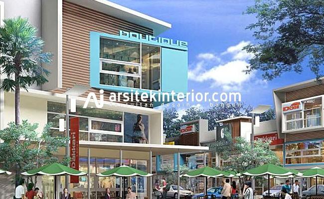 desain ruko 2 3 lantai dengan konsep modern tropis