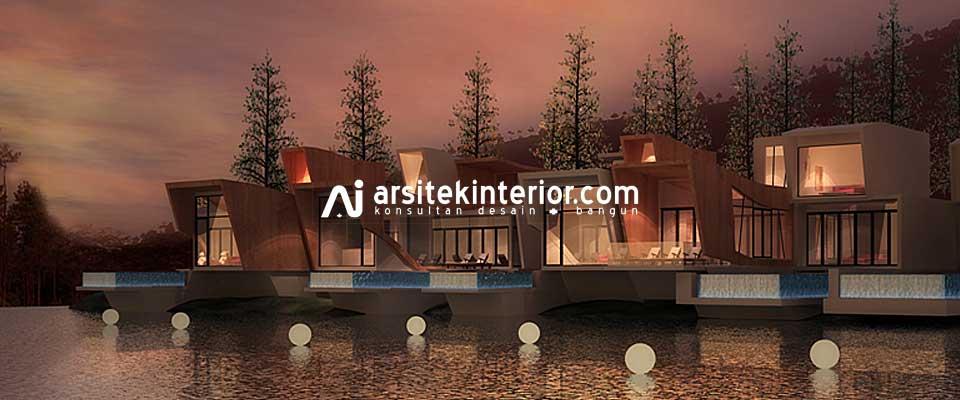 Desain Villa di Bogor