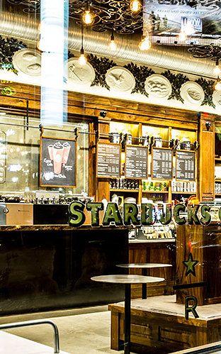 News – Desain Interior Starbucks yang baru mulai menerapkan konsep interior yang kontekstual
