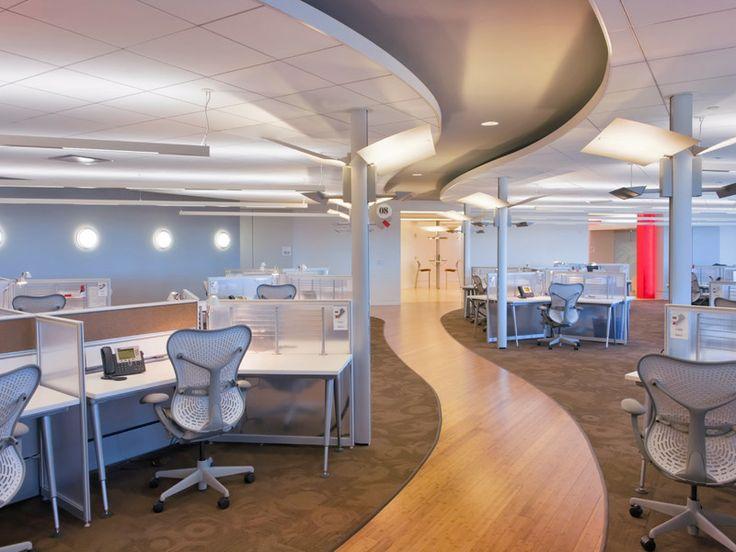News – Disain Interior Kantor Bank Of America oleh Nelson