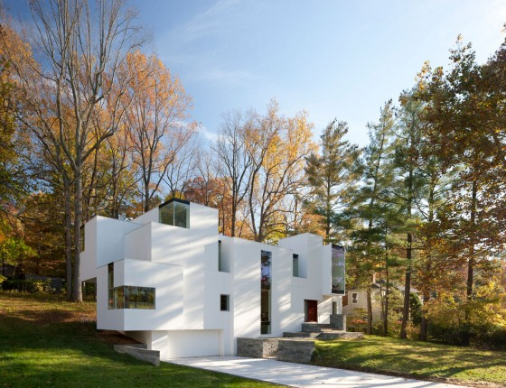 [news] Desain Rumah Yang Berbeda Dengan Konsep Fluida, Cool!