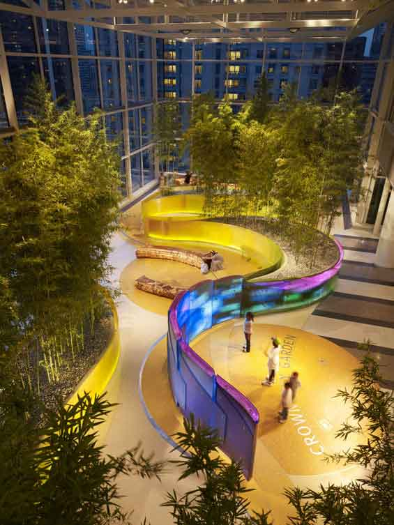 News – Desain Arsitek Interior Rumah Sakit Modern Dengan Sky Garden