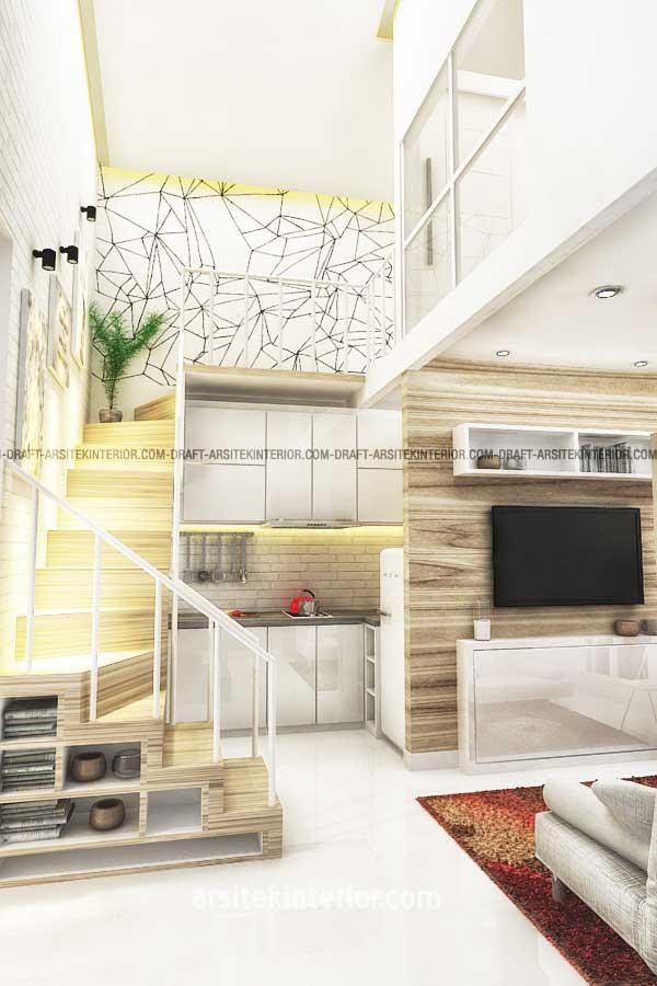 Konsep Micro Living Pada Design Rumah Kecil 2 Lantai Luas 40 Meter
